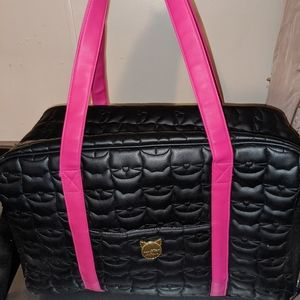 Betsey Johnson duffel bag